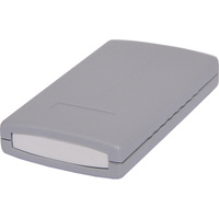 50x90x16mm ABS Dark Grey Instrument Case