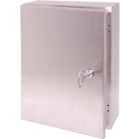 200x300x150mm IP66 Stainless Steel Lockable Steel Utility Wall Cabinet