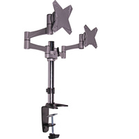 100mm VESA Dual Desk Mount LCD Bracket