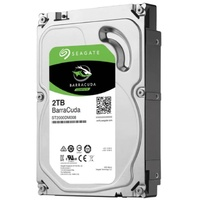 Seagate 2TB 3.5Inch Barracuda 7200RPM SATA3 6GBs 256MB Cache HDD 2 Year Warranty