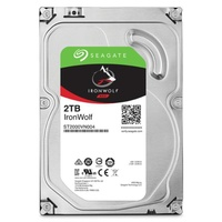 Seagate 2TB 3.5Inch IronWolf NAS 5900RPM SATA3 6GBs 64MB HDD 3 Years Warranty