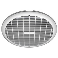 Heller 250mm Ball Bearing Exhaust Fan Laundry Bathroom Ventilation Ceiling Round