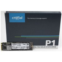 Crucial P1 1TB M.2 NVMe PCIe SSD 3D NAND True Image Cloning Software 5Year wty