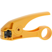 2 Blade Coaxial Cable Stripper RG59/6/11/7 UTP/STP CAT5 CAT6