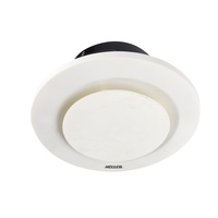 Heller Ducted Round 250mm Exhaust Fan Bathroom Ventilation Shutter Ceiling White
