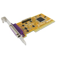 Sunix ParallelIEEE1284 Card 2 Port PCI Interface Plug-n-Play 1 Year Warranty