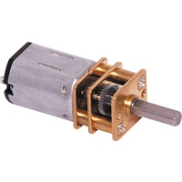 Micro N20 Geared Motor 298:1 22.5-90RPM