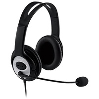 Microsoft LifeChat LX3000 USB Stereo Headset Microphone For Voice and Video Chat