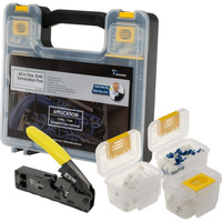 RJ45 Termination Hand Tool Kit Tools And Connectors All In 1