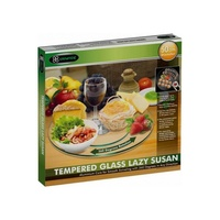 Tempered Glass Lazy Susan 50cm Lovely glass top is easy to clean New