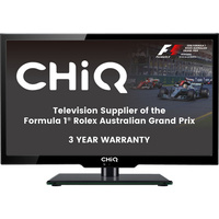"Chiq 19"" HD LED TV With PVR  12V 3 Yr Warranty"