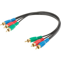 0.3M Component Video RCA Lead