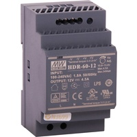 60W 12VDC 4.5A DIN Rail Switchmode Power Supply short circuit Protection