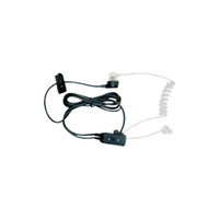 MIDLAND SECURITY KIT - CLEAR EAR TUBE & LAPEL MICROPHONE