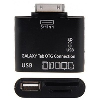 SAMSUNG Tab Adaptor OTG USB Hub 30 pin connector Supports many SD Cards