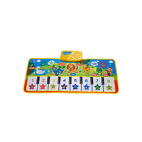 Kids step on play mat 8Keys 7cords Suits Age 3Plus