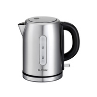 Maxim 1L Small Stainless Steel 2200W Electric Cordless Kettle Jug MKPK1S-NEW