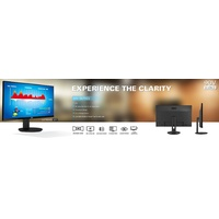 AOC 27 Inch IPS 5ms 4K DP HDMI Flicker Free Low Blue Mode Business Monitor