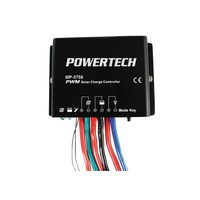 12/24V 20A PWM Solar Charge Controller with Timer Function IP67 Intelligent timer function with 1 to 13 hours' option