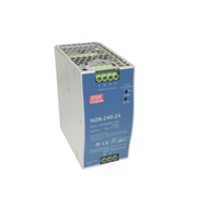 Mean well PSU 24V 10A 240W DIN MNT MW NDR-240-24