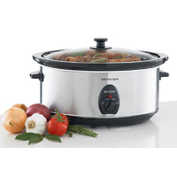 Maxim 6.5L Stainless Steel Slow Cooker