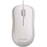 Microsoft Basic Optical USB Wired Mouse White 3 Years Warranty