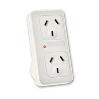 Surge Protection Double Power Adaptor