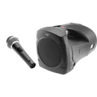 PORTABLE Rechargeable Sound System with Wired Microphone MP3 playback via SD USB