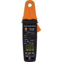 Compact AC/DC Clamp Meter Current range 4A 80A