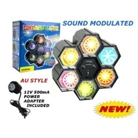 LED Sound MODULATED Disco Party Strobe Chaser Light