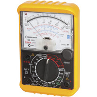 Protech Multifunction Display Analogue Multimeter Continuity Buzzer