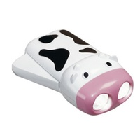 Cow Shaped Dynamo Torch No Batteries Required Squeezee Torch