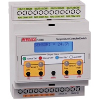 Temperature Controlled DIN Rail Switch