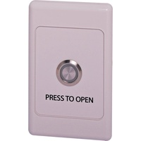 Push To Open Wallplate With Illuminated Pushbutton Switch