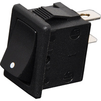SPST Momentary On/Off Mini Rocker Switch
