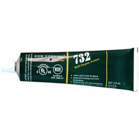 139Ml Silastic Silicon White 732 Dow Corning Multi Sealant
