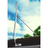 4' STAY BARS WITH COLLAR 1.2M SUPPORT FOR MAST FASCIA BRKT