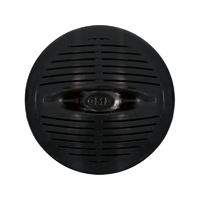 GME 160 mm water resistant flush mount speakers (pair) black