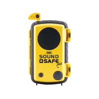 GME SS002Y SoundSafe Plus Waterproof Smartphone case and speaker C/W Dongle YELLOW
