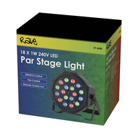 18 x 1W RGB LED Par Stage LightV DMX512 control