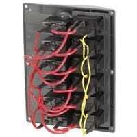 6 Way IP66 Marine Switch Panel