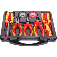 9 Piece 1000V Rated Insulated Tool Kit