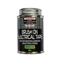 Brush-On Electrical Tape Black 118mL