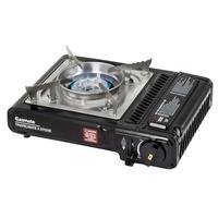 Gasmate Portable Butane Gas Stove Solid Steel Construction with Storage Case