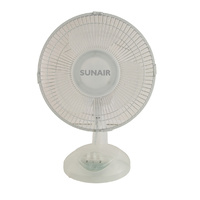 TRANSPARENT DESK FAN 23CM