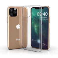 Clear TPU Case for Apple I Phone 11 Pro protects humps and scratches