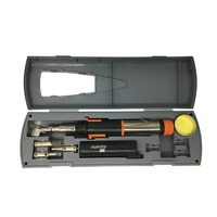 Portasol Super Pro Gas Soldering Tool Kit& 4.8mm 2.4mm double flat tip With Quality storage case