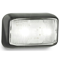 Vehicle Clearance Lights - Clear White Front Outline Marker