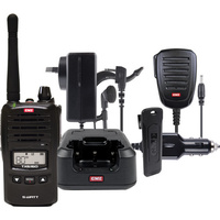 GME 5W UHF CB Handheld Tranceiver  With Accessories Pack