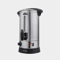 Maxim Stainless Steel Urn 10 Litre 10L 40 Cup - Boiling Warm / Hot Water